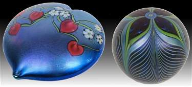 ORIENT & FLUME ART GLASS LIMITED PAPER WEIGHTS