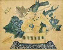 AMERICAN SCHOOL THEOREM FRUIT, BIRD & BUTTERFLY