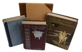 4)BOOKS: GEN. NELSON MILES, GEN. GEO CROOK, CUSTER