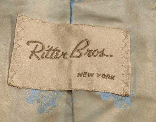 185: LADIES VINTAGE MINK FUR COAT, RITTER BROS,NEW YORK - 4