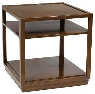 WORMLEY DUNBAR MID-CENTURY THREE-TIER SIDE TABLE