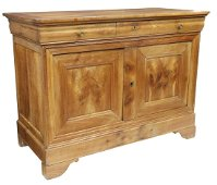 FRENCH LOUIS PHILIPPE PERIOD FRUITWOOD SIDEBOARD
