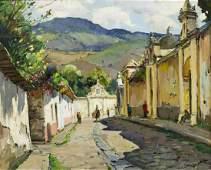 ANTHONY THIEME (1888-1954) CALLE DE SAN FRANCISCO