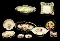 GERMAN PORCELAIN GROUP, R.S. PRUSSIA, R.S. GERMANY