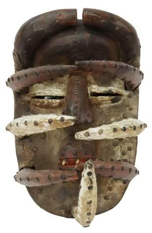 AFRICAN BETE SPIDER WAR NYABA MASK, IVORY COAST