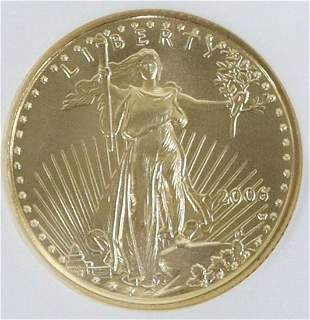 US HALF EAGLE 2006 GOLD $5 COIN EARLY RELEASE MS69