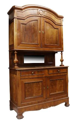 FRENCH LOUIS PHILIPPE STYLE WALNUT SIDEBOARD