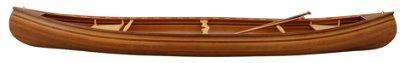 "HAND-CRAFTED CEDAR STRIP CANOE & PADDLES, 192""L"
