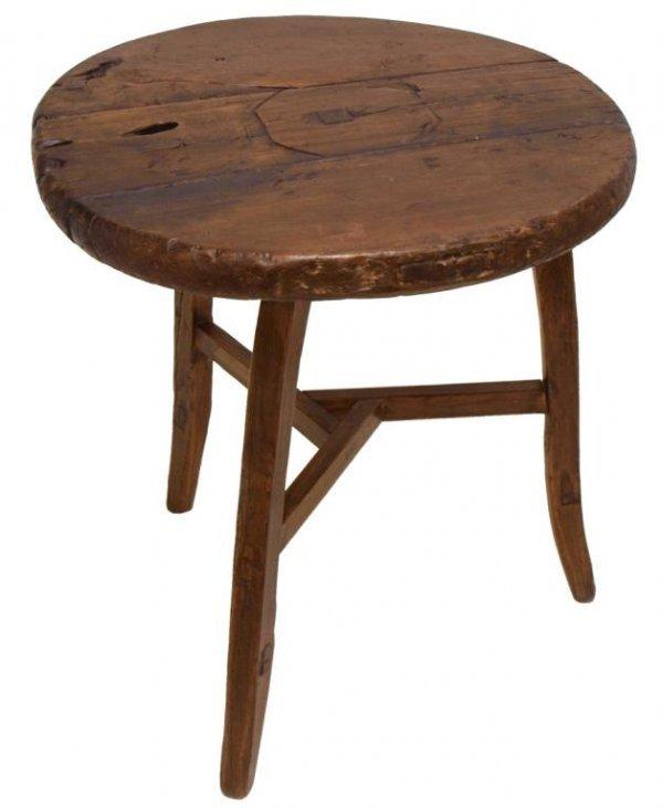 RUSTIC CHINESE ELMWOOD GARDEN TABLE
