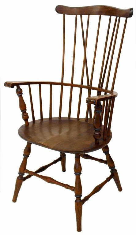 WINDSOR COMB-BACK ARM CHAIR