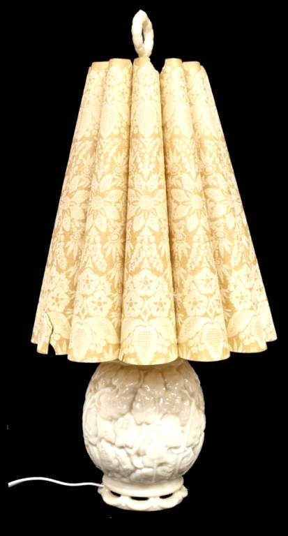 ALADDIN ALACITE TABLE LAMP WITH WHIP-O-LITE SHADE