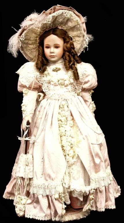 (3) LIMITED EDITION THELMA RESCH PORCELAIN DOLLS - 2