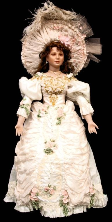 (3) LIMITED EDITION THELMA RESCH PORCELAIN DOLLS - 3