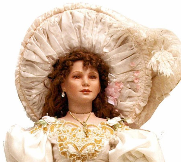 (3) LIMITED EDITION THELMA RESCH PORCELAIN DOLLS - 6