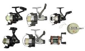 (7) VINTAGE FISHING REELS