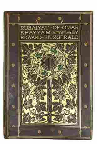 BOOK: FITZGERALD RUBAIYAT OF OMAR KHAYYAM, POGANY