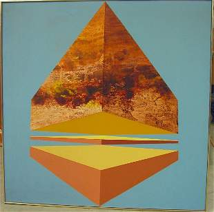 "James Twitty 48""x48"" oil on canvas."