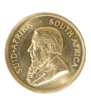 1979 GOLD KRUGERRAND GOLD COIN, ONE OUNCE GOLD