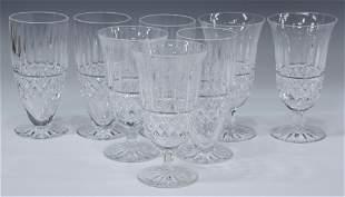 (8) WATERFORD 'MAEVE' CUT CRYSTAL ICED TEA GLASSES