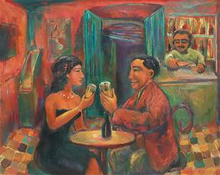 LUIS CASTELLANOS VALUI (MX., B.1955) THE TOAST