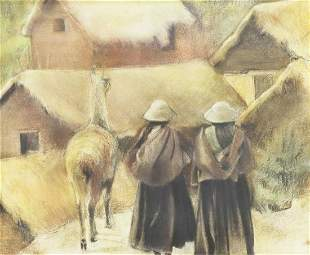 TERRI ANA STOKES (TX) 'EL CAMINO DE LA GRANJA'
