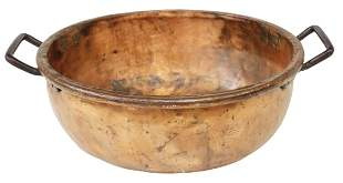 CONTINENTAL OVERSIZED COPPER & IRON POT