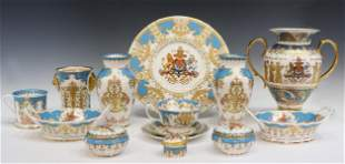 (14) ROYAL COLLECTION 'GOLDEN JUBILEE' TABLEWARE