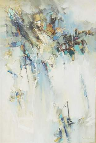 YOUNG WOO MODERN ABSTRACT PAINTING