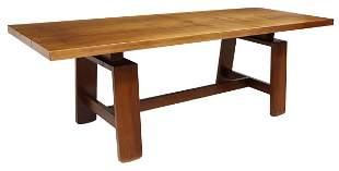 SILVIO COPPOLA BERNINI MID-CENTURY WALNUT TABLE