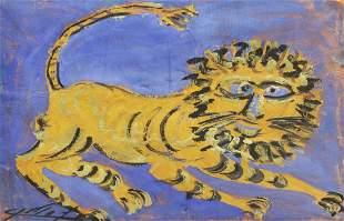 JESUS 'CHUCHO' REYES FERREIRA (1882-1977) LION