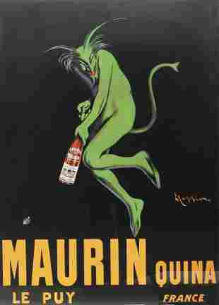 FRAMED ADVERTISING POSTER AFTER LEONETTO CAPPIELLO