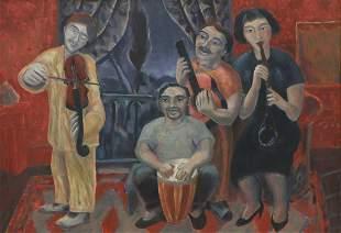 LUIS CASTELLANOS VALUI (MX., B.1955) MUSICIANS