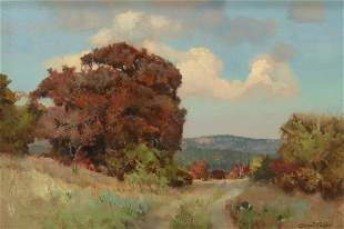 CARROLL COLLIER (D.2017) HILL COUNTRY LANDSCAPE
