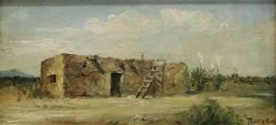 VALENTINE MORSE (1893-1971) NEW MEXICO PUEBLO