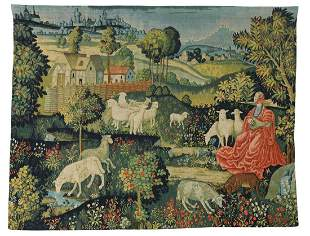 FRENCH ROBERT FOUR CONCERT CHAMPETRE TAPESTRY