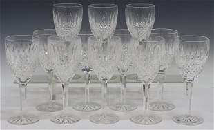 (12) WATERFORD 'CASTLEMAINE' CUT CRYSTAL GOBLETS