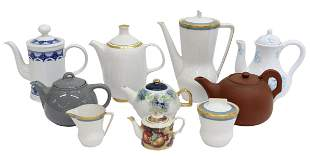 (10) COLLECTION OF TEA & COFFEE ITEMS