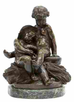 JEAN MARIE PIGALLE (1792-1857) BRONZE SCULPTURE