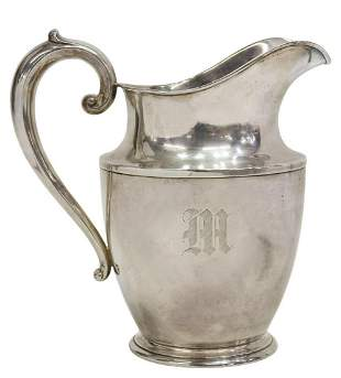 AMERICAN WALLACE STERLING SILVER WATER PITCHER