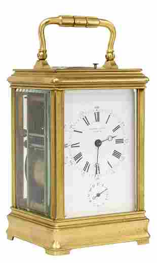 SWISS HENRY-DANIEL CAPT REPEATER CARRIAGE CLOCK