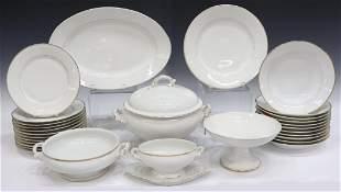 (29) LIMOGES PARCEL GILT PORCELAIN DINNER SERVICE