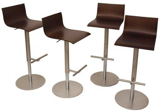 Wondrous Modern Italian Lapalma Karri Monni Barstools Squirreltailoven Fun Painted Chair Ideas Images Squirreltailovenorg