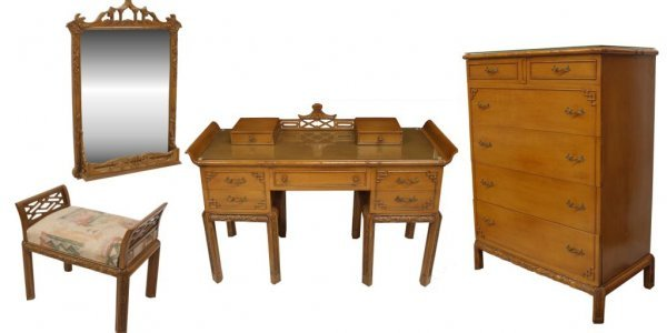 THOMASVILLE CHINESE CHIPPENDALE STYLE FURNITURE