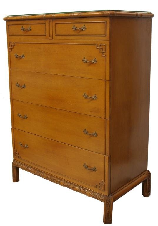 THOMASVILLE CHINESE CHIPPENDALE STYLE FURNITURE - 2