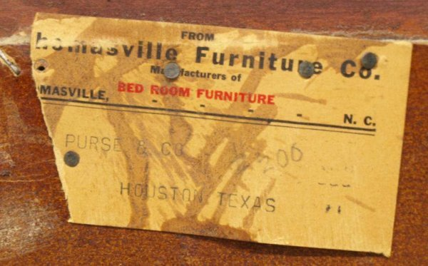 THOMASVILLE CHINESE CHIPPENDALE STYLE FURNITURE - 6