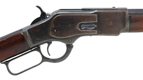 WINCHESTER M1873 RIFLE, .44-40 CALIBER, ANTIQUE