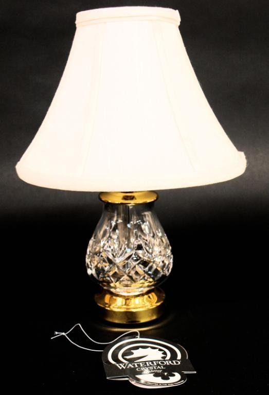 WATERFORD CRYSTAL 'FIONA' ACCENT TABLE LAMP