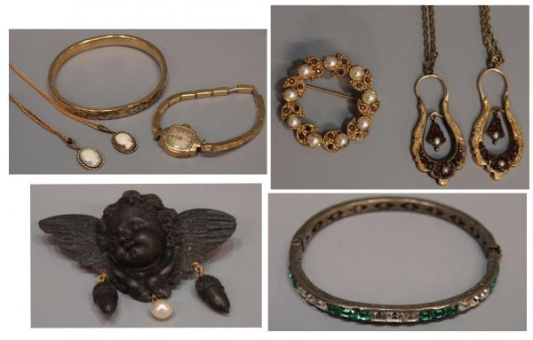 COLLECTION OF VICTORIAN & STYLE JEWELRY