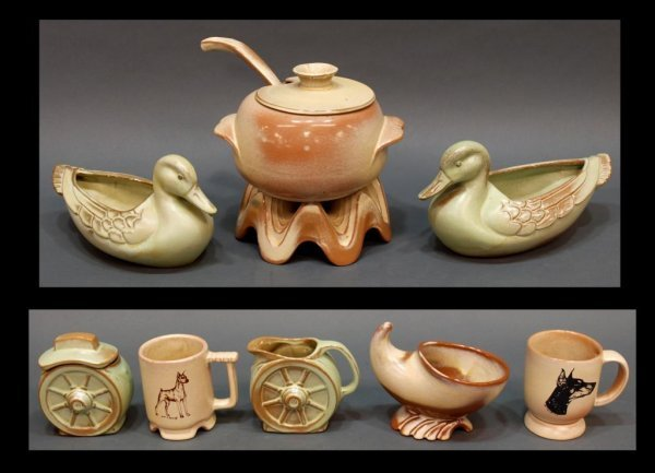 COLLECTION OF ASSORTED FRANKOMA ART POTTERY