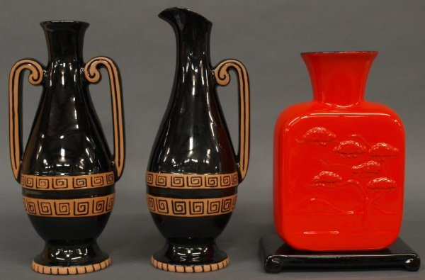 FRANKOMA LIMITED EDITION ART POTTERY GROUPING